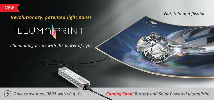GotPrint IllumaPrint Printed Light Displays