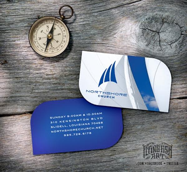 GotPrint Leaf Shaped Business Cards