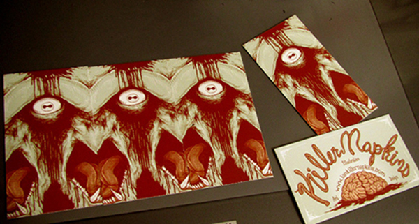 GotPrint illustrator business cards