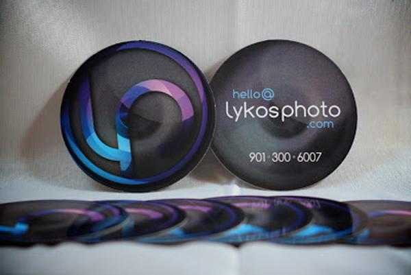 GotPrint round business cards