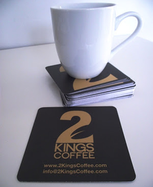 GotPrint Business Cards Coasters