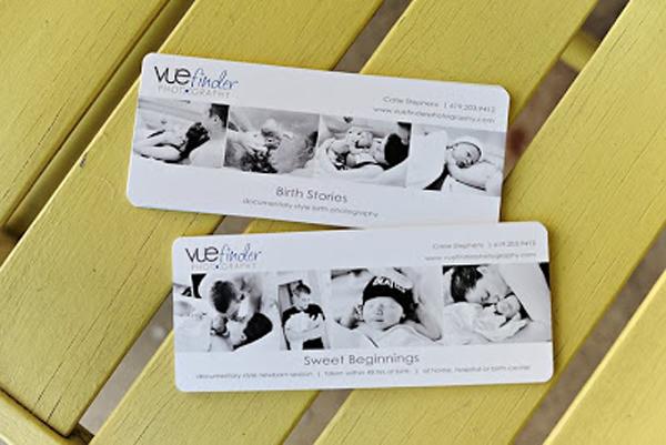 GotPrint slim photographer business cards