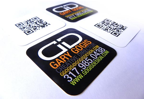 GotPrint QR Code Business Cards