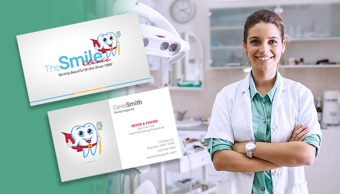 Pediatric Dentist Business Card