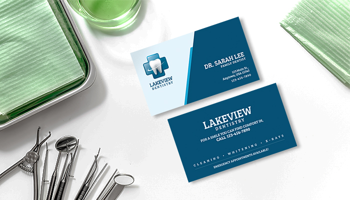 Family Dentist Business Card