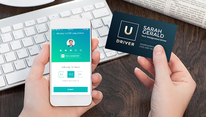 GotPrint Uber Business Card