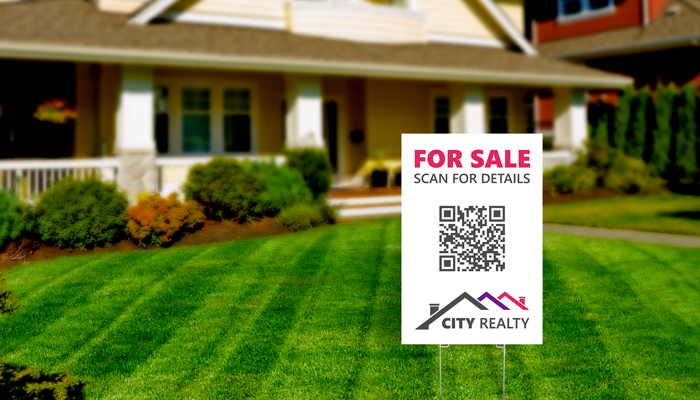 GotPrint QR Code Yard Signs
