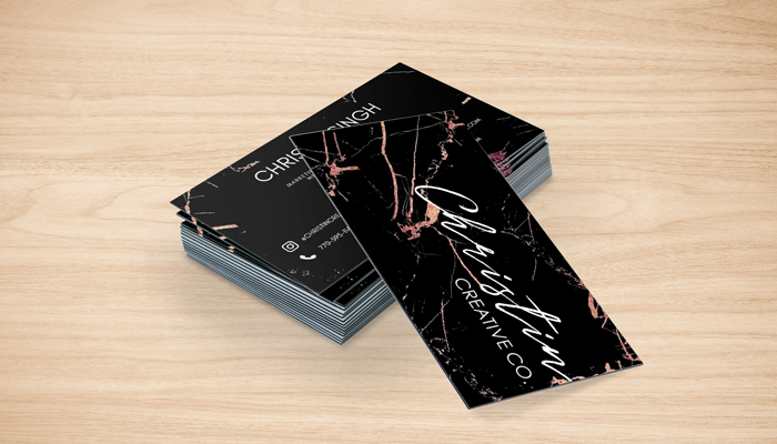 GotPrint Christin Creative Trifecta Business Cards