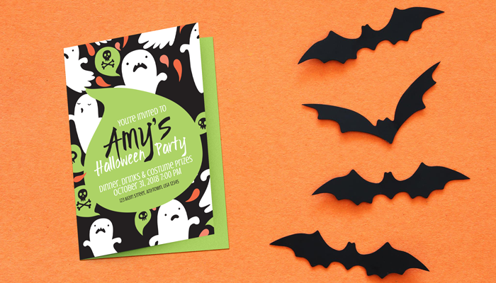 GotPrint Halloween Party Invitations