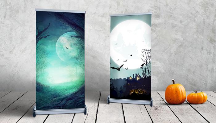GotPrint Halloween Retractable Banners