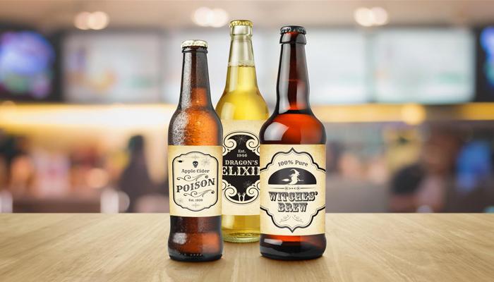 GotPrint Halloween Beer Custom Stickers