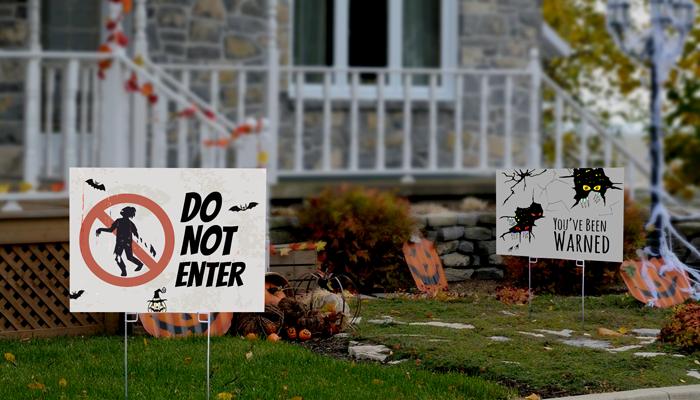 GotPrint Halloween Yard Signs