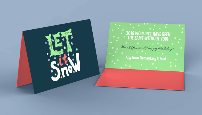 GotPrint Folded Holiday Card