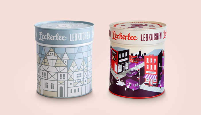 GotPrint Creative Packaging Ideas Leckerlee Lebkuchen