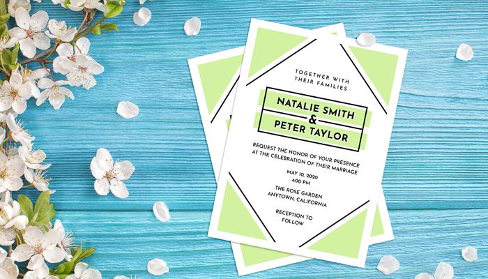 GotPrint Modern Wedding Invitations