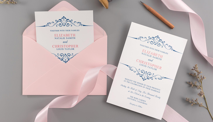 GotPrint Traditional Wedding Invitations
