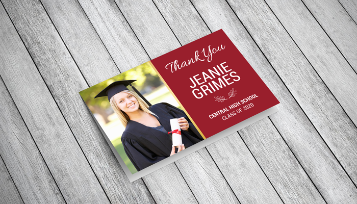 GotPrint Graduation Thank You Cards