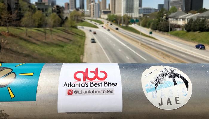 Atlanta's Best Bites Stickers